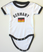 GERMANY BABY BODYSUIT 100%COTTON.SIZE FOR 6 MONTHS.NEW
