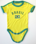 BRASIL BABY BODYSUIT 100%COTTON.SIZE FOR 18 MONTHS.NEW