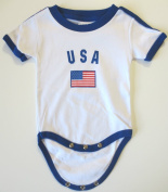 USA BABY BODYSUIT 100%COTTON. SIZE FOR 24 MONTHS .NEW