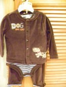 First Impression Baby Boy 3 Pc Set, Size 3-6 Months