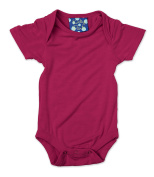 KicKee Pants Short Sleeved One-Piece, Orchid, Newborn