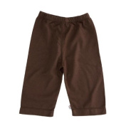 Baby Soy Slip-on Pants, Chocolate Size 0-3 months