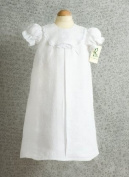 100% Linen Christening Gown, Hand Crafted in Ireland