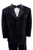 Gino Giovanni Black Usher Baby Boy Tuxedo Size Medium 6-12 Month