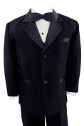 Gino Giovanni Black Usher Baby Boy Tuxedo Size Medium 6-12 Month