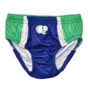 Ocean Pacific Infant Boys Blue & Green Reusable Swim Nappy