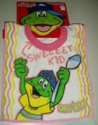 KELLOGGS Infant Pullover BIB DIG' Em FROG Sweet Kid