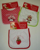 3 Different Strawberry Shortcake Infant Pullover BIBs
