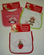 3 Different Strawberry Shortcake Infant Pullover BIBs