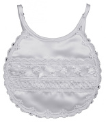 Satin Laced Bib
