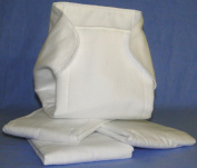 NuAngel Prefold Cloth Nappy - Made in USA From Quality USA 100% White Cotton Flannel