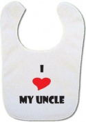 I love my Uncle Baby Bib