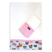 Cupcake Burp Cloth Set