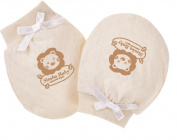 Simba Design 100% Natural Organic Cotton Baby Mittens- Super Soft