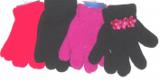 4fmg2.094, Set of Four Pairs One Size Stretch Magic Gloves for Children Ages 1-4 Years
