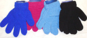 Set of Four Magic Stretch Microfiber Lined One Size Gloves for Infants and Toddlers Ages 1-4 Years