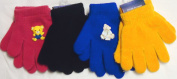 Sj.016, Set of Four Pairs One Size Magic Gloves for Infants and Toddlers Ages 1-4 Years