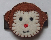 """Monkey"" Baby Snap Hair Clip"