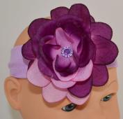 Two Toned Purple Baby Headband
