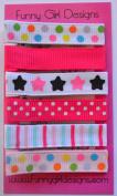 Pink Sweet & Simple Hair Clip Set