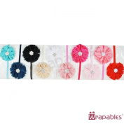 Kella Milla Chiffon Flower Headbands for Baby & Toddler Girls