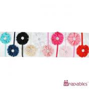 Kella Milla Chiffon Flower Headbands for Baby & Toddler Girls