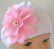 Claribel Pink Fleece Baby Hat