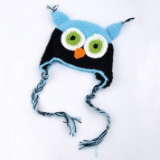BestDealUSA Fashion Toddler Baby Girls Boys Cute Owls Animal Crochet Knit Woolly Cap Ear Hat