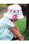Ruffled Tulip Hat *Pattern*