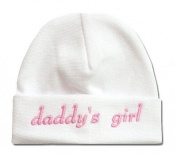 Itty Bitty Baby White Daddy's Girl Cap