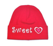 Itty Bitty Baby Red Sweetheart Cap