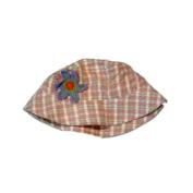 Kid Connexion Stripped Pink Flower Infant Girls Bucket Hat Sun Floppy Hat Rain