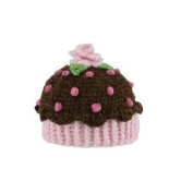 Brown (Chocolate) Cupcake Baby Hat