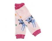 Warmer Cartoon Baby Girl Boy Newborn Toddler Knee Bootie High long Socks Cotton Leggings Leg Pattern Cartoon deer K10