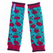 Baby Red Roses Leg Warmers