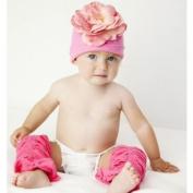 Baby Bubblegum Pink Legruffle Leg Warmers By Huggalugs