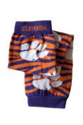 Licenced Clemson University Baby & Kids Leg Warmers - zebra stripe