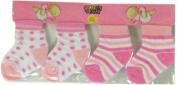 Colortech - Newborn Baby Socks Set of 2 Pairs