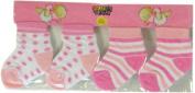 Colortech - Newborn Baby Socks Set of 2 Pairs