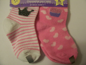 Max Grey Baby Socks ~ Set of 2, 12-18 Months