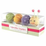 Caterpillar Crawlers Baby Socks Gift Set, 4 Pairs