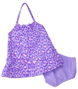 Faded Boutique® Baby Girls' Purple Animal Print Sundress w/ Bloomers, Size