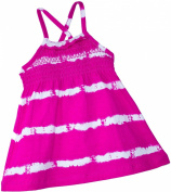 Baby Boutique® Baby Girls' Sun Dress, Pink Tie Dyed Dress w/ Bloomers, Size