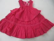 Taille O Linen Dress Pink Size 9 Months