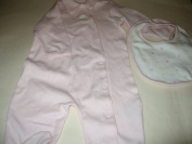 Cuddle Bears Organics Pink 2 Piece Set Size 3/6 Months