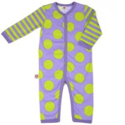 Little Miss Match Coveralls, Marvellous Purple/green 0-3 Months