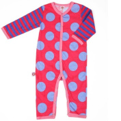 Little Miss Match Coveralls, Marvellous Blue/pink Baby 0-3 Months