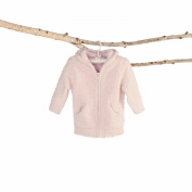 bamboo chic infant hoodie - pink md
