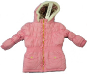 French Toast Infant Girls Jacket with Matching Scarf size 18 mos