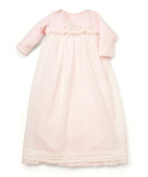 Bunnies by the Bay Blossom's Girlie Gown, Pink, 0-3 Months